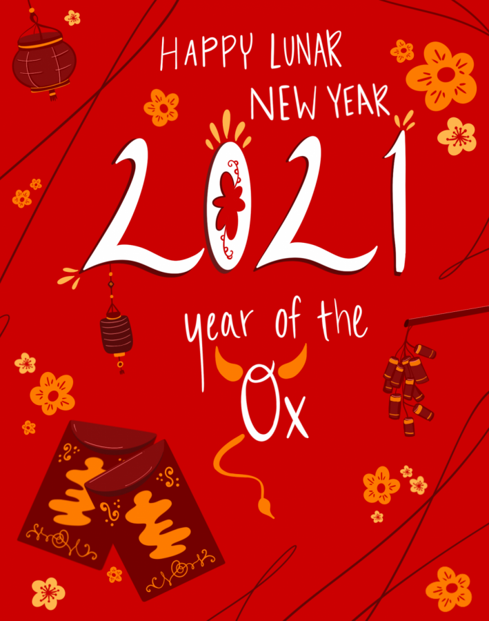 Lunar New Year, celebrated on Friday, Feb. 12, is commonly associated with Chinese New Year. The holiday is celebrated by a variety of Asian cultures and students reflect on the holiday in the times of COVID-19.