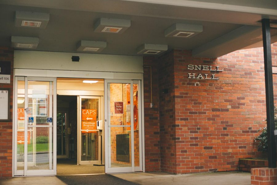 A photograph of Snell Hall, where students can find Counseling & Psychological Services (CAPS) resources. CAPS, along with DamWorthIt, looks to help people withmental health issuesat OSU.