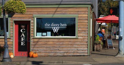 Exterior of The Dizzy Hen